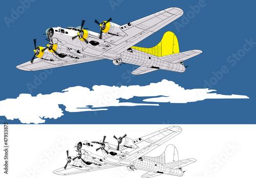 bomber Poster Mural XXL