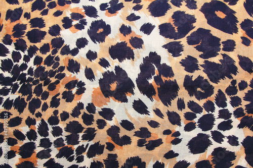 In de dag Panter background of leopard skin pattern