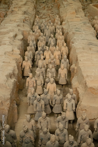 Foto op Plexiglas Xian Terracotta army