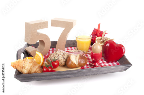 Photo  Birthday breakfast