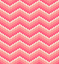 Zigzag Seamless Pattern. Colorful Chevron