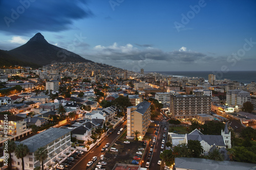 Foto op Aluminium Afrika City of Cape Town