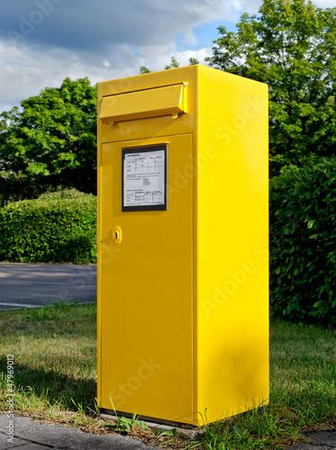 Turbo Großer gelber Briefkasten - Big Yellow Mailbox – kaufen Sie dieses LG46