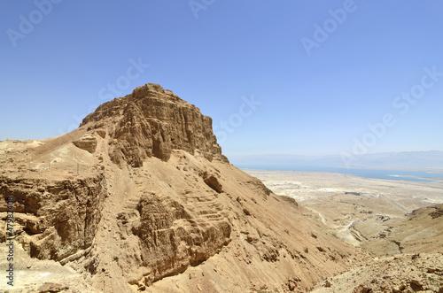 Fotografie, Obraz  Masada stronghold mountain.