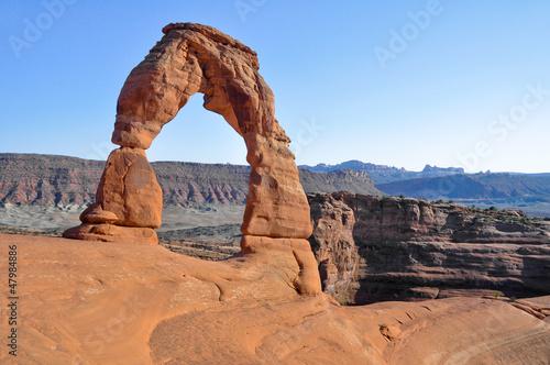 Poster Parc Naturel Delicate arch, Arches national park (Utah)