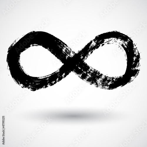 Fotografía  Infinity symbol. Vector.