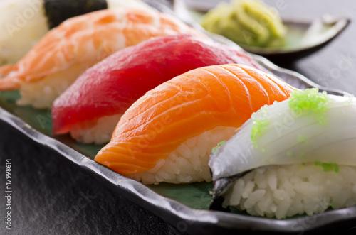 Printed kitchen splashbacks Sushi bar sushi