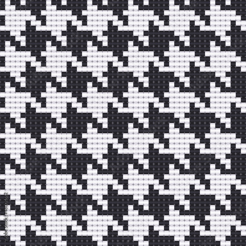 Photo  houndstooth