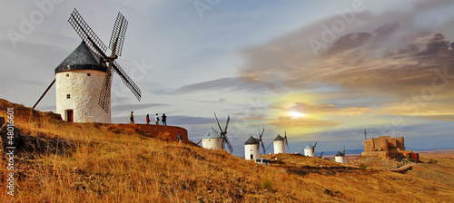Fotografia windmills of Spain. Consuegra