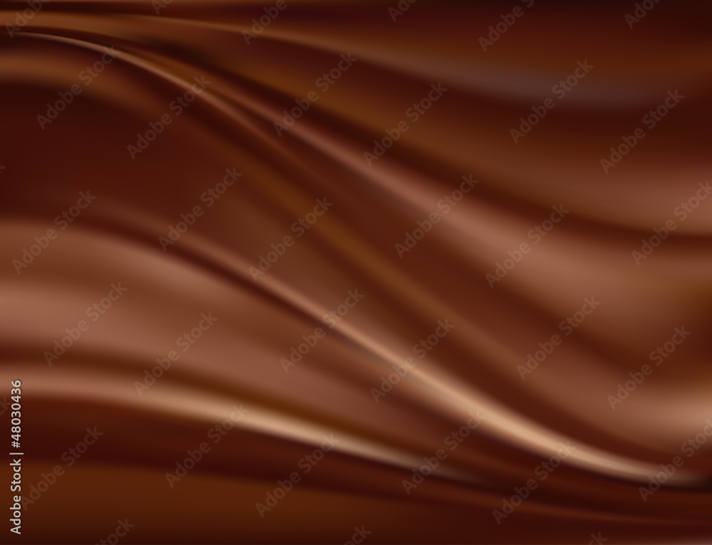 Fototapeta Abstract chocolate background