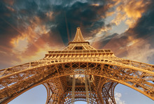 Beautiful View Of Eiffel Tower...
