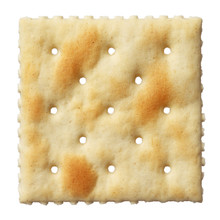 Saltine Soda Cracker Isolated ...