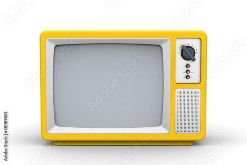 Fotomural Vintage television