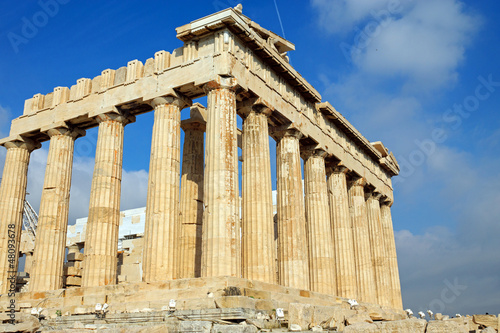 Fotobehang Athene The Parthenon in Athen