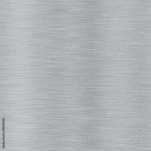 Foto op Plexiglas Metal Seamless brushed metal texture