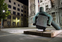 Statue Of Justice, Brno