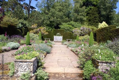 Papiers peints Jardin decorative pathway