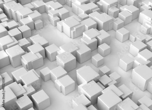 Abstract 3d cubes backround large resolution
