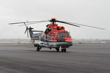 Super Puma Helicopter