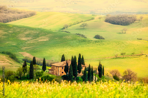 Fototapety, obrazy: Spring in the Tuscany