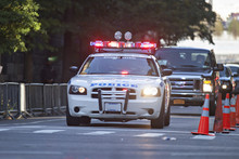 Polizeiescorte In New York City