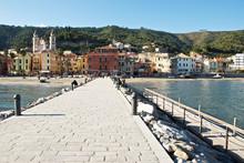 View Of Laigueglia (Italy)