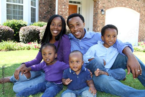 Fényképezés  African American Family