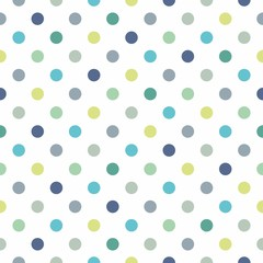 fototapeta kolorowe kropki wzór