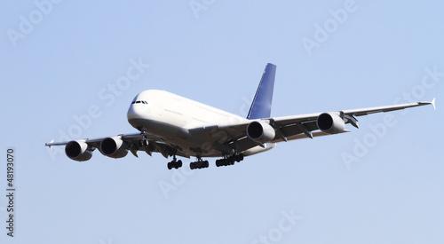 Fotografia  Modern airplane