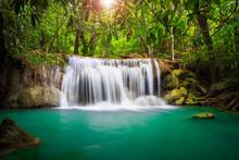 Thailand Waterfall In Kanjanaburi