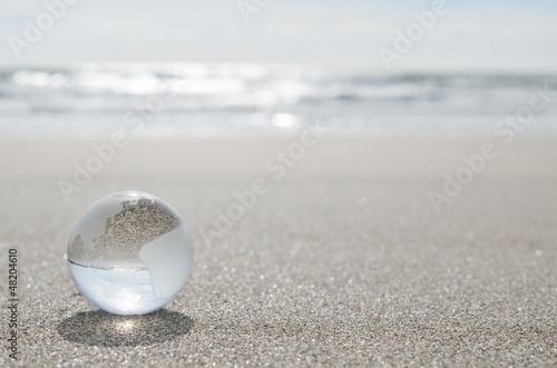 地球 砂浜 Fototapeta