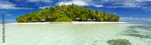 Island in the Maldives