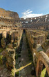 The hypogeum of the Colosseo