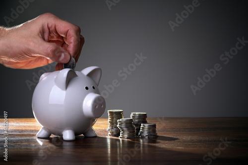 Fototapeta Savings obraz
