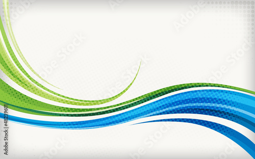 Poster Abstract wave Abstract background