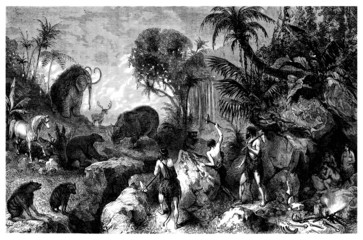 Prehistory - Scene : Humans vs Animals