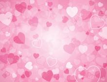 Valentine's Day Background Wit...