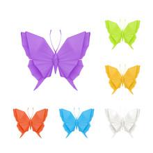 Origami Butterflies, Set