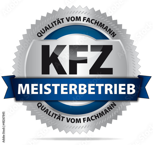 Fotografie, Obraz  KFZ Meisterbetrieb - Qualität vom Fachmann