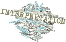 Word Cloud For Interpretation