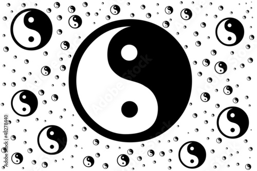 Chinese Symbol Of Taoism Yin Yang Buy This Stock Illustration