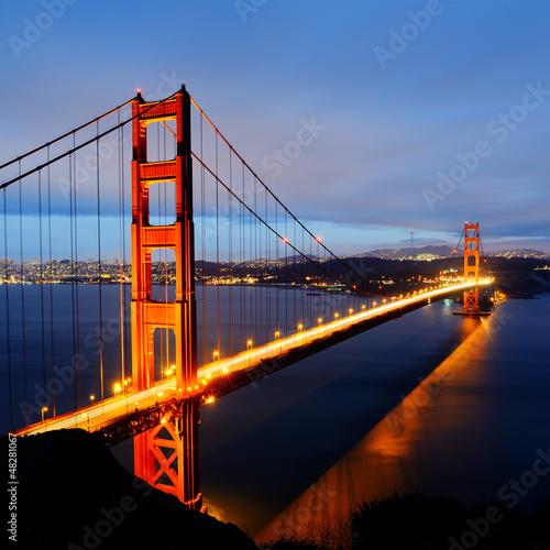 Keuken foto achterwand Bruggen Golden Gate Bridge, San Francisco
