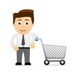 Office-Guy Shopping cart