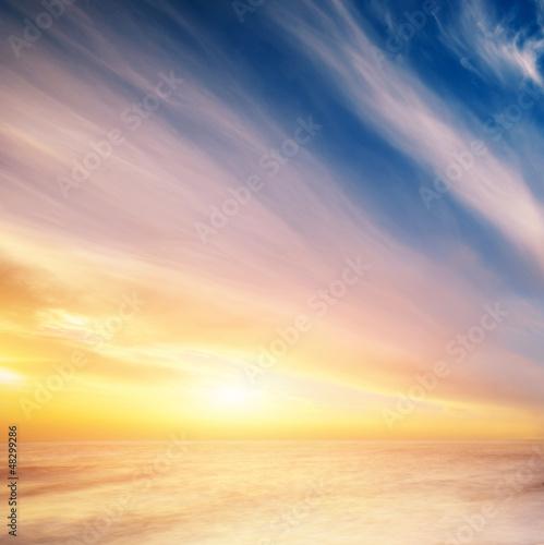 In de dag Zwavel geel Sky background