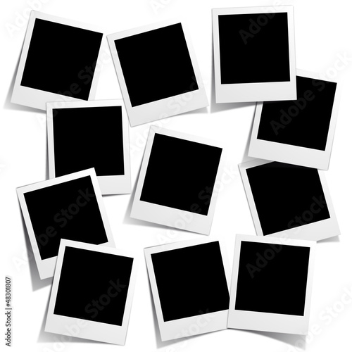 Vector polaroid collection Tapéta, Fotótapéta