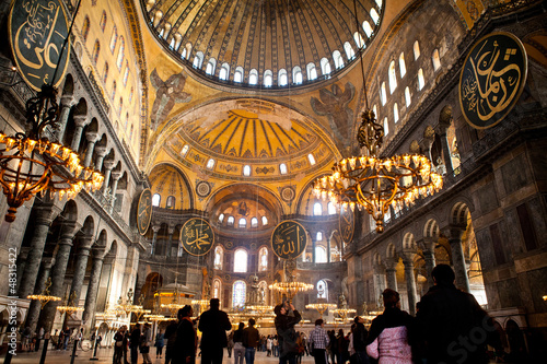 Photo  Hagia Sophia / Aghia Sophia Museum Istanbul Turkey