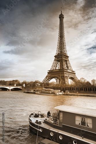Foto op Aluminium Eiffeltoren Tour Eiffel