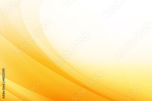 Tuinposter Abstract wave Orange Abstract Background