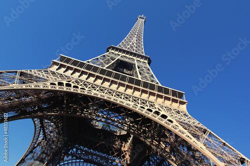 Fototapeta under the tower obraz na płótnie