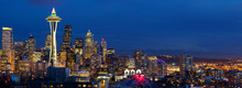 Seattle Skyline Panorama With ...